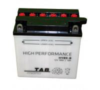 Мото аккумулятор Tab 9 Ач 135x75x139