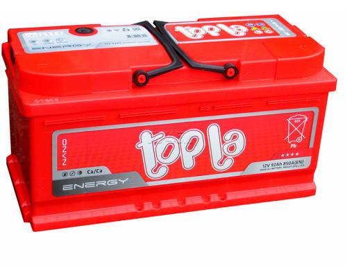 Автомобильный аккумулятор  Topla 92 Ач