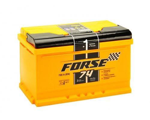 Автомобильный аккумулятор  Forse 74 Ач