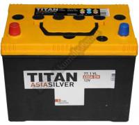Автомобильный аккумулятор  Titan 77 Ач 258x171x221