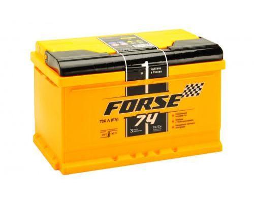 Автомобильный аккумулятор  Forse 75 Ач