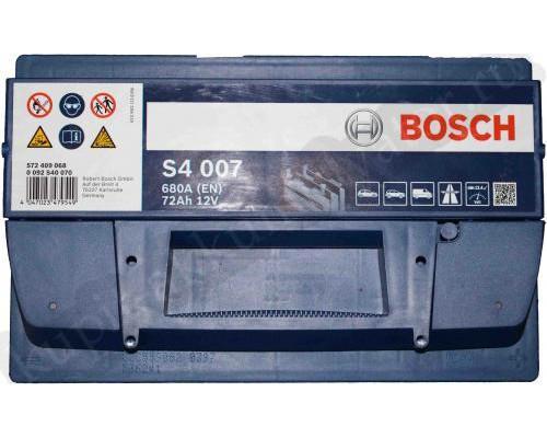Автомобильный аккумулятор  Bosch 72 Ач
