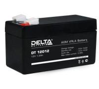Аккумулятор Delta DT 12012 (12 вольт 1.2 ампер)