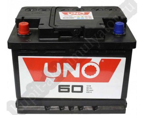 Автомобильный аккумулятор  Uno 60 Ач