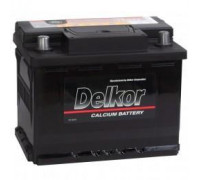 Автомобильный аккумулятор  Delkor 62 Ач 242x175x190