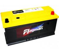 Автомобильный аккумулятор  Flagman 110 Ач 393x175x190
