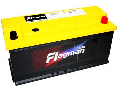 Автомобильный аккумулятор  Flagman 110 Ач