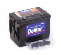 Аккумулятор лодочный DELKOR MARINE M24MF (65L) 490 А прям. пол. 65 Ач (M24MF)
