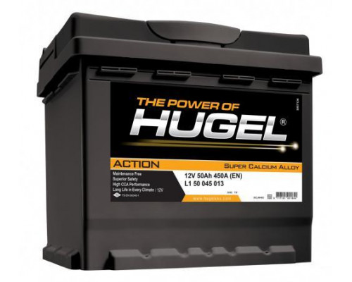 Автомобильный аккумулятор  Hugel 50 Ач