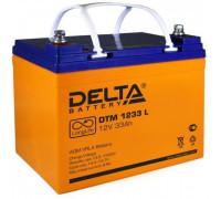 Аккумулятор Delta DTM 1233 L 12 Вольт 33 А.ч