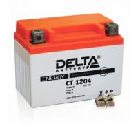 Мото аккумулятор Delta 4 Ач 113x70x87