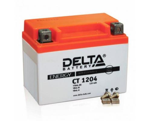 Мото аккумулятор Delta 4 Ач
