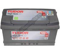 Автомобильный аккумулятор  Tudor 100 Ач 353x175x190