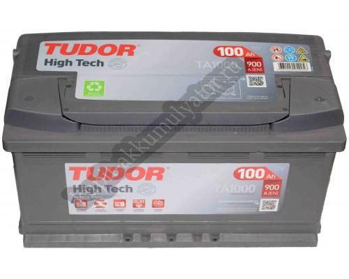 Автомобильный аккумулятор  Tudor 100 Ач