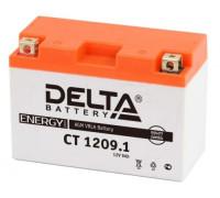 Мото аккумулятор Delta 9 Ач 151x71x107