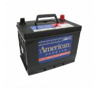 Автомобильный аккумулятор  American 75 Ач 260x173x205
