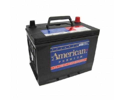 Автомобильный аккумулятор  American 75 Ач