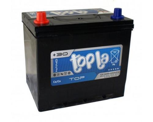 Автомобильный аккумулятор  Topla 60 Ач