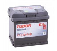 Автомобильный аккумулятор  Tudor 53 Ач 207x175x190