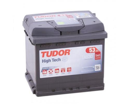 Автомобильный аккумулятор  Tudor 53 Ач