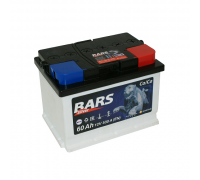 Автомобильный аккумулятор  Bars 60 Ач 242x175x175