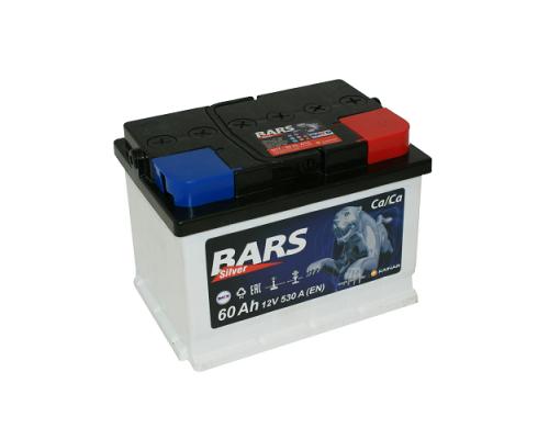 Автомобильный аккумулятор  Bars 60 Ач
