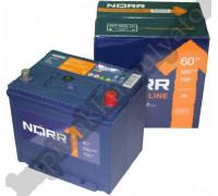 Автомобильный аккумулятор  Norr 60 Ач 232x173x225