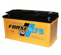 Автомобильный аккумулятор  Forse 110 Ач 353x175x190