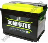 Автомобильный аккумулятор  Dominator 65 Ач 242x175x190