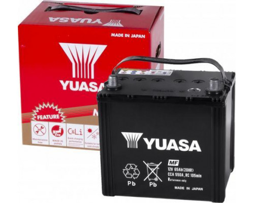 Автомобильный аккумулятор  Yuasa 65 Ач