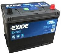 Автомобильный аккумулятор  Exide 70 Ач 266x172x223