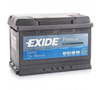 Автомобильный аккумулятор  Exide 77 Ач 278x175x190