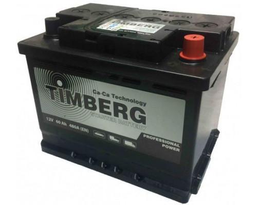 Автомобильный аккумулятор  Timberg 60 Ач