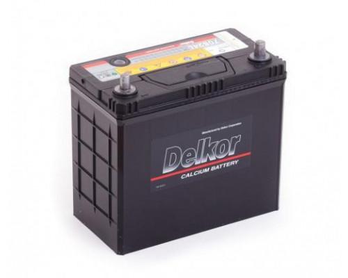 Автомобильный аккумулятор  Delkor 55 Ач