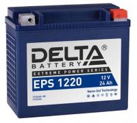 Мото аккумулятор Delta 24 Ач 205x87x162