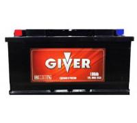 Автомобильный аккумулятор  Giver 100 Ач 353x175x190
