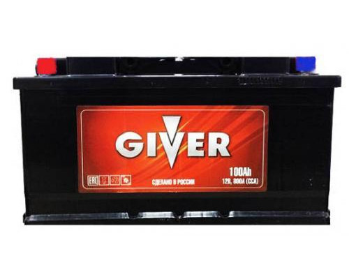 Автомобильный аккумулятор  Giver 100 Ач