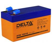 Аккумулятор Delta DTM 12012 (12 вольт 1.2 ач)