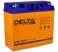 Аккумулятор Delta DTM 1217 (12 вольт 17 ампер)