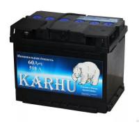 Автомобильный аккумулятор  Karhu 60 Ач 242x175x175