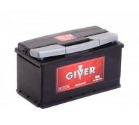 Автомобильный аккумулятор  Giver 90 Ач 353x175x190