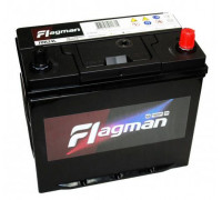Автомобильный аккумулятор  Flagman 55 Ач 232x127x225
