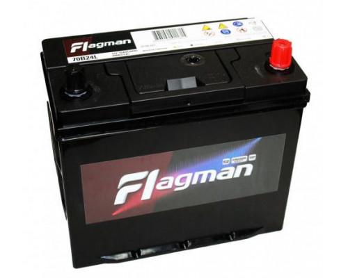 Автомобильный аккумулятор  Flagman 55 Ач