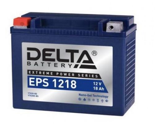 Мото аккумулятор Delta 18 Ач