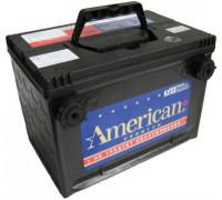 Автомобильный аккумулятор  American 95 Ач 260x175x186