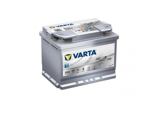 Автомобильный аккумулятор  Varta 60 Ач 242x175x190