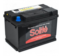 Автомобильный аккумулятор  Solite 74 Ач 278x175x190