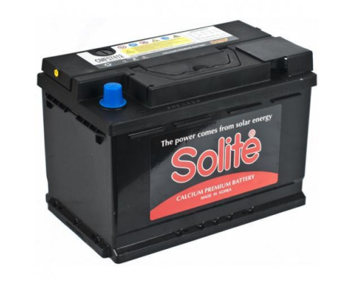 Автомобильный аккумулятор  Solite 74 Ач
