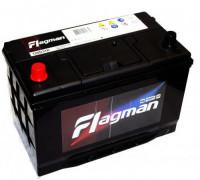 Автомобильный аккумулятор  Flagman 100 Ач 306x173x225