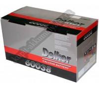 Автомобильный аккумулятор  Delkor 100 Ач 352x175x190